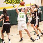 Archbishop Bergan High School Girls Varsity Basketball falls to North Bend Central 45-31