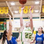 Archbishop Bergan High School Girls Varsity Basketball beat Lourdes Central Catholic High School 41-39