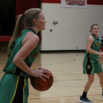 Archbishop Bergan High School Girls Varsity Basketball beat Concordia Jr/Sr High 47-37