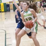Lady Knights Basketball Opens Up Sub-District Play With A Big Win