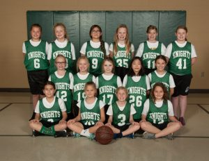 Girls 4th Grade Basketball PAL