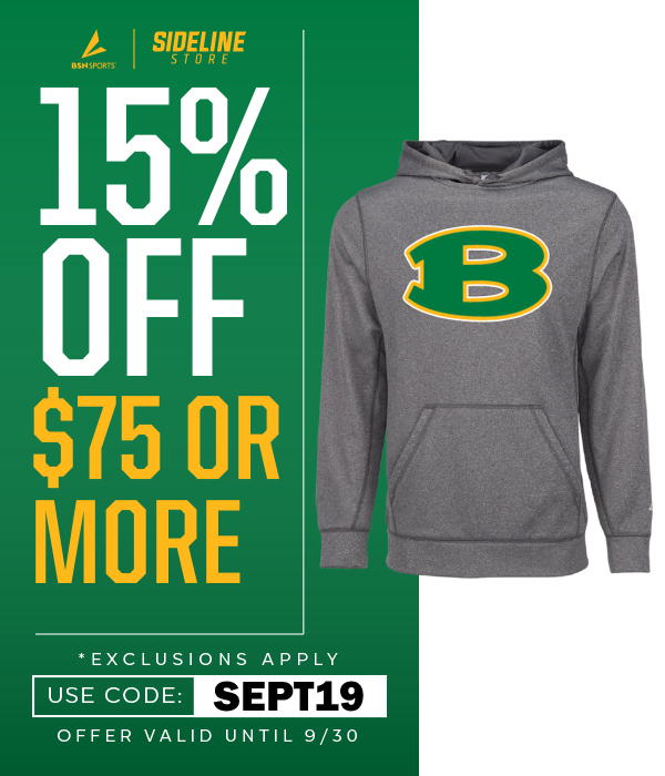 NEW SIDELINE SHOP: Purchase BERGAN WEAR here!