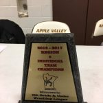 Apple Valley High School Boys Freshman Wrestling finishes 1st place
