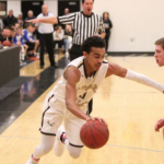 Apple Valley High School Boys Varsity Basketball beat Eagan High School 77-39