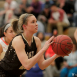 Apple Valley Girls Basketball beat Eagan 77-40