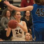 Apple Valley Girls Basketball beats Eastview