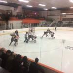 Apple Valley High School Boys Varsity Hockey falls to Farmington High School 4-2
