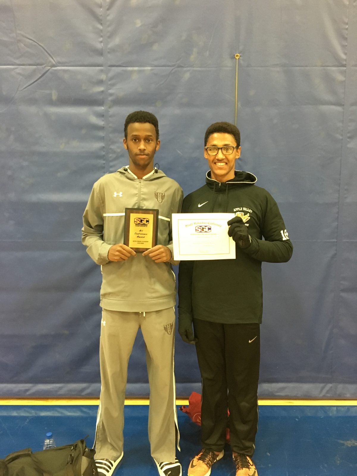Khalif finishes 10th overall for Eagles at conference meet