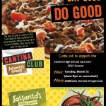 Lacrosse Fundraiser at Salsarita's Tuesday, March 31