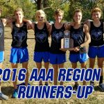 Boys XC team places 2nd at Regionals