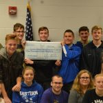 ROTC Donates $1800 to Track Renovation Project