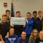ROTC Donates $1800 to Track Renovation Project