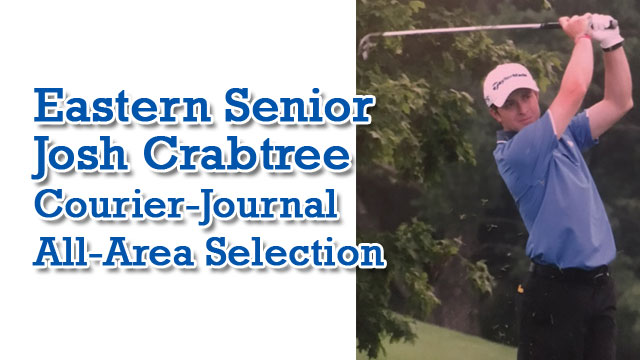 MGolf: Crabtree Honored with All Area Selection