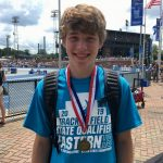 Frosh Luke Levinson wins Pole Vault State Title