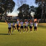 HBHS Girls Golf- breaks the HBHS lowest score record last week against Edison with a 202!