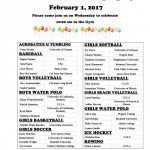 Signing Day at HBHS- Feb 1st at 10am in the Gymnasium! – Be There!