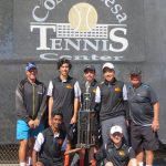 Varsity Tennis wins the Hank Lloyd High School event this year!  Go Oilers!