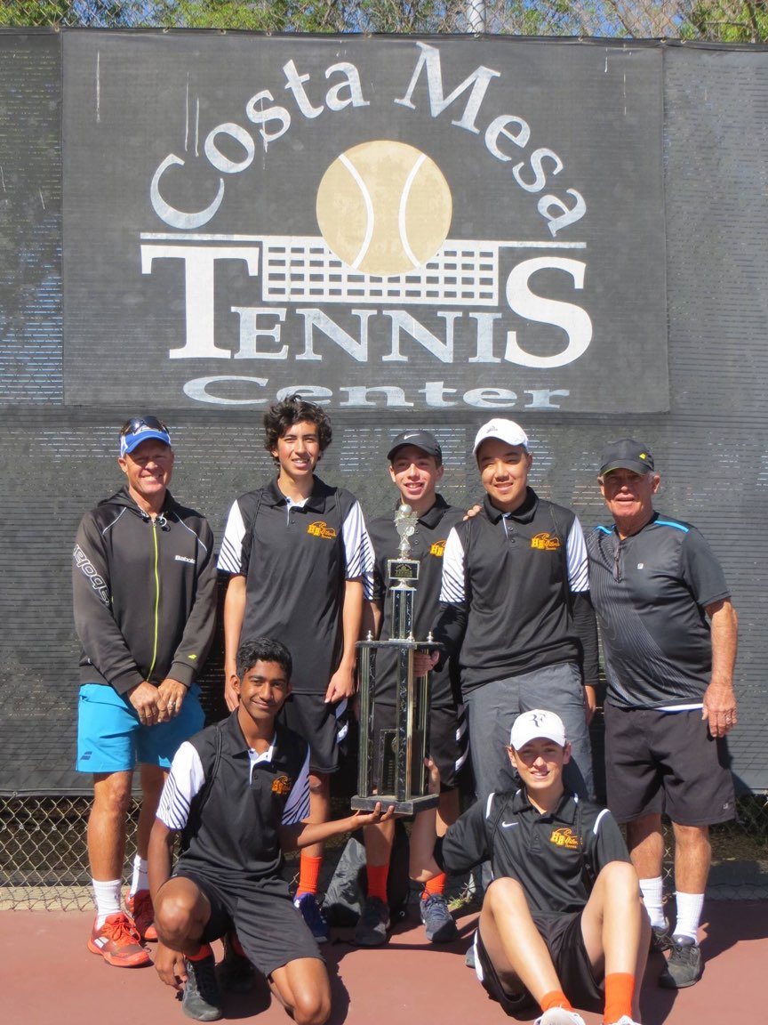 Varsity Tennis wins the Hank Lloyd High School event this year!  Go Oilers!