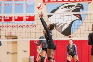 9.22.15: Volleyball (Varsity): LR at A.C. Flora