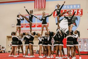Competitive Cheer @ Falcon Invitational (10.20.15)