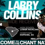 Larry Collins Signs with Coastal Carolina University
