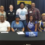 Victoria Hicklin Signs with Johnson and Wales University