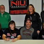 Alaynie Woollard signs with NIU