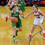Lady Trojans fight back to beat Dragons 35-33