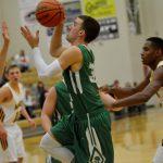 New Castle High School Boys Varsity Basketball falls to Marauders 60-65