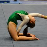 Gymnastics team finishes 3rd at Sectional, advances to Regional