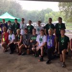 New Castle High School Boys Varsity Cross Country finishes 4th place