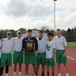 New Castle High School Boys Varsity Tennis beat Knightstown High School 5-0