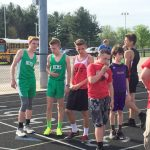 New Castle Boys Middle School Track defeats Connersville With Great Team Effort