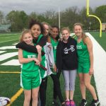 NCMS Girls Track Defeats Shenandoah to Remain Undefeated