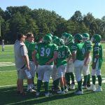 NCMS 8th Grade Football Team falls Short to Greenfield-Central 19-6