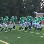NCMS 8th Grade Football Shuts Out Yorktown Middle School 28-0