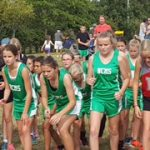 NCMS Girls Cross Country finishes 3rd place at Mt. Vernon