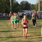 NCMS Girls Cross Country finishes 6th place at HHC Meet