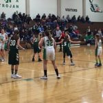 Girls 7th Grade Basketball falls to Pendleton Heights Middle 31 – 10