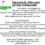 FIELDHOUSE OPEN GOLF OUTING FUNDRAISER
