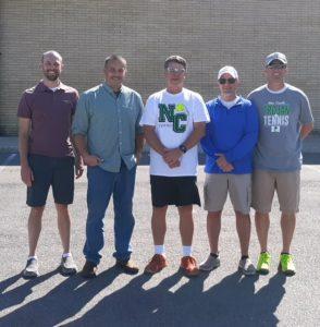 Boys Tennis Silver Anniversary Team