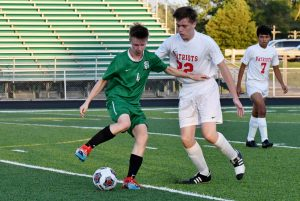 Boys JV/Varsity Soccer against Jay County Photo Gallery