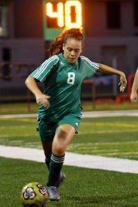 Girls Soccer Photo Gallery against Rushville
