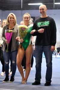 Gymnastics Senior Night 2020