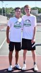 Boys Varsity Tennis beats Blue River 5-0 on Senior Night