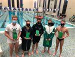Boys Varsity Swimming ties Muncie Central 88 – 88