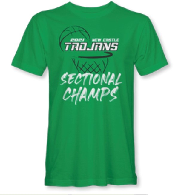 Basketball Sectional Championship Shirts Are Available