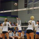 Varsity Volleyball beat Blue Valley Northwest 2-0
