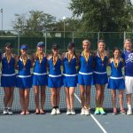 Girls Varsity Tennis finishes 3rd place