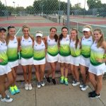 Girls Varsity Tennis falls to Lee's Summit West High School 1-8